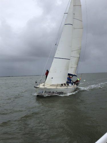Reprise de la navigation sur le bassin. D'Arcachon