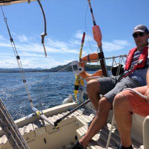 Louvoyage devant Cabo Higuier